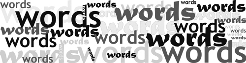Wordsbanner